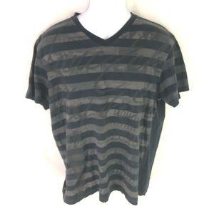 Marc Ecko Men's Black Gray T-Shirt L